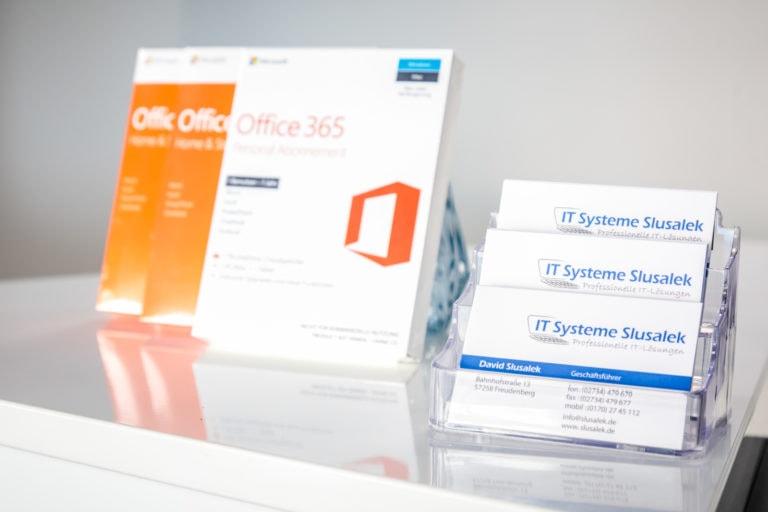 Visitenkarten IT Systeme Slusalek